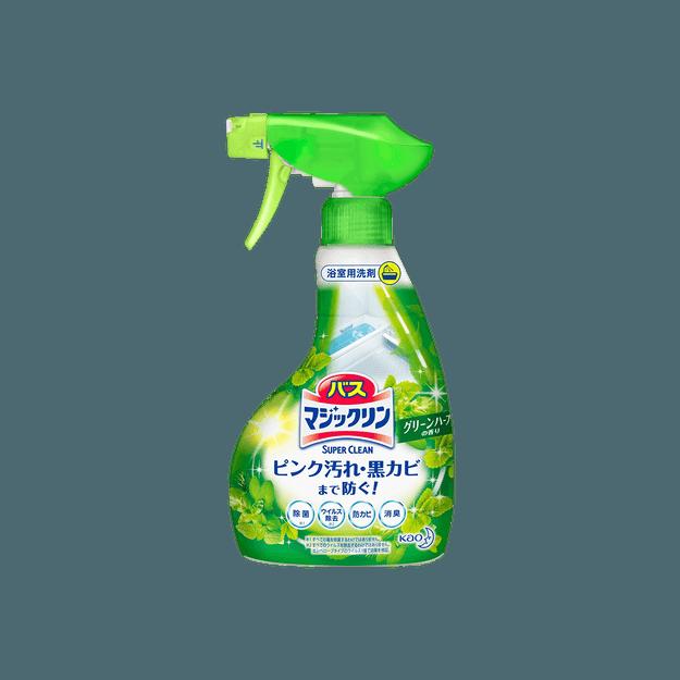 商品详情 - 日本KAO花王 浴室消臭清洁剂 清新森林香 380ml - image  0
