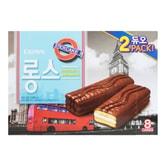 韩国CROWN 巧克力棉花糖棒蛋糕 352g