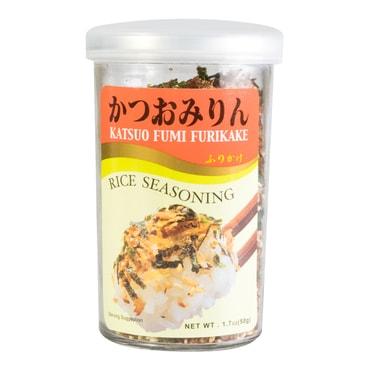 日本AJISHIMA味岛 香松系列 日式拌饭料 鲣鱼海苔味 50g