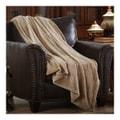 MERRYLIFE单层毛毯 柔软保暖摇粒绒  米色  60'' 90'' 四季通用
