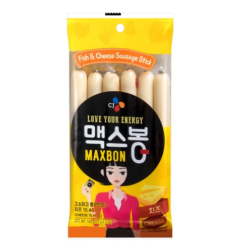 CHE IL JEDANG Fish and Chesse Sausage Stick 162g