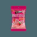 【童趣零食】日本BOURBON波路梦 巧克力外层草莓Prezel饼干 46g
