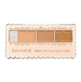 CANMAKE Color Mixing Concealer 3 Colors 02 Natural Beige 1pc