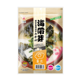 Sun Right Seaweed Soup (Egg Flavor) 80g 3 Minute Ready Soup
