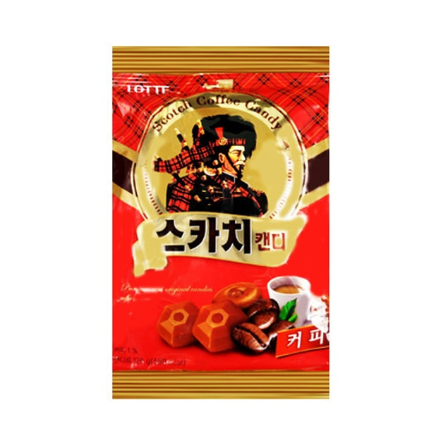 LOTTE SCOTCH Coffee Candy 126g