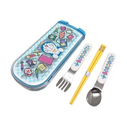 OSK Doraemon  Utensil Tableware Set for Toddlers and Kids 3pcs (Spoon Fork Chopsticks)