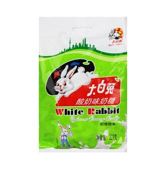 WHITE RABBIT Yoghourt Creamy Candy 227g
