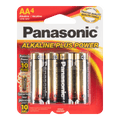 PANASONIC General Purpose Alkaline Plus AA Battery 4 Packs