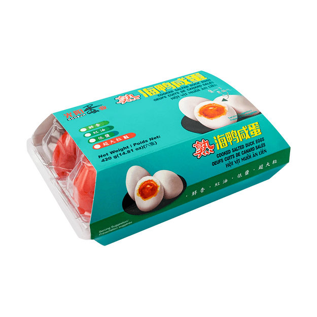 Product Detail - GuangYang Cooked Salted Duck Egg 420g - image 0