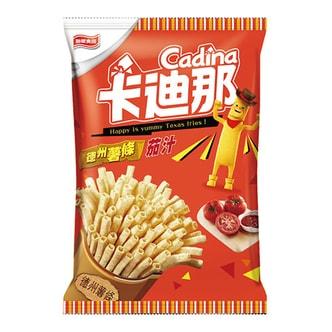 台湾卡迪那 德州薯条 茄汁味 42g
