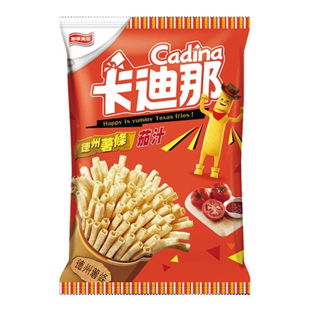 商品详情 - 台湾卡迪那 德州薯条 茄汁味 42g - image  0
