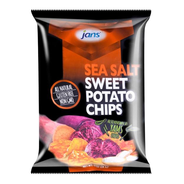 商品详情 - 印尼JANS 海盐味红薯片 84g - image  0