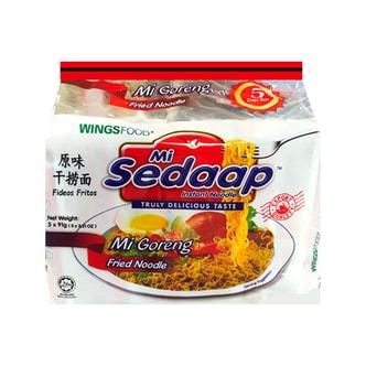 印尼SEDAAP喜达 原味干捞面 5连包