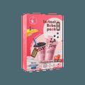 【冷冻】O'S Bubble 草莓珍珠奶茶 4包入