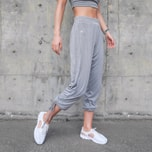 SYLPHLIKE LOLI Sports Elastic Pants For Running Train Outdoor/Grey#/M