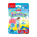 GOO.N  BABY DIAPER SWIMMING PANTS L SIZE FOR BOYS #L 3SHEETS