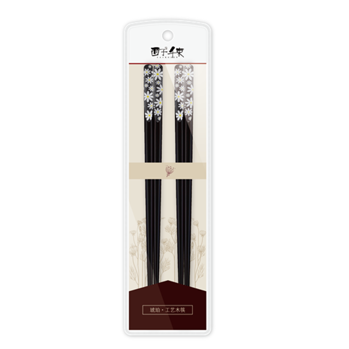Yamibuy.com:Customer reviews:SUNCHA Chinese Wood Wooden Chopsticks 24cm 2pairs