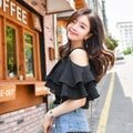 ATTRANGS Blouse black free size