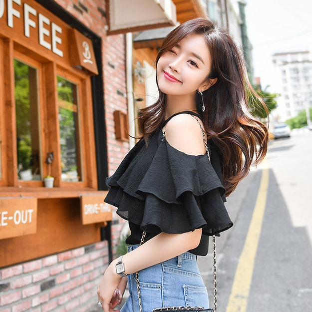 Product Detail - ATTRANGS Blouse black free size - image 0