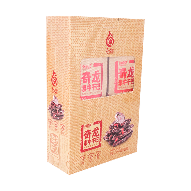 Product Detail - ZHANGQILONG Tofu Strips Five Spice Flavor 460g - image 0