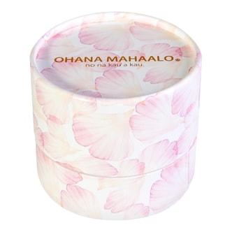 日本OHANA MAHAALO 珠光蜜粉粉扑香水 #爱恋茉莉 11g