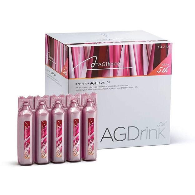 商品详情 - [日本直邮] 晓姿 AXXZIA AG 第5代 最新版抗糖口服加量加强版 25ml*30支 - image  0