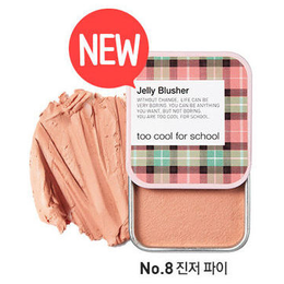 TOO COOL FOR SCHOOL Check Jelly Blusher #8 Ginger Pie 8g