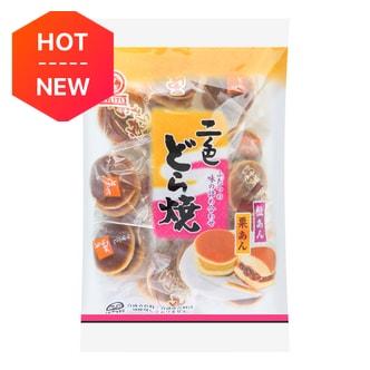 日本TENKEI天惠 二色铜锣烧 栗子&豆沙口味 265g