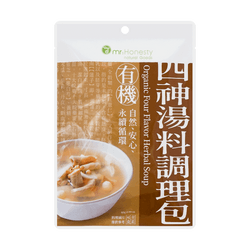 MR.HONESTY Organic Four Flavor Herbal Soup 85g