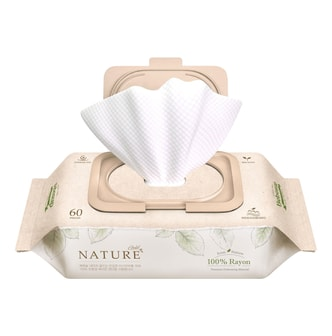 BEBESUP NATUREGOLD with Cap Baby Wipes 60sheets