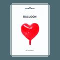 名创优品Miniso 心形气球