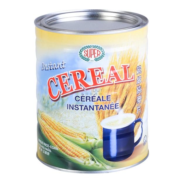 商品详情 - 新加坡SUPER超级 特纯无添加即食麦片 500g - image  0