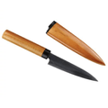 Japan Pearl Life Stainless Steel Fruit Chef's Knife with woody Hanger