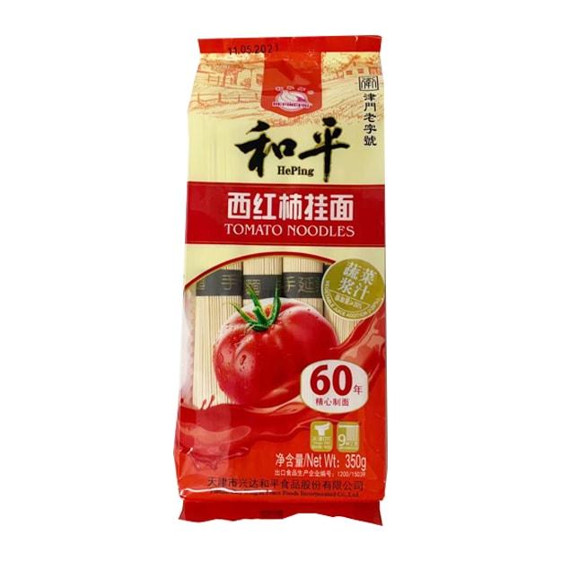 商品详情 - 和平 西红柿挂面 350G - image  0