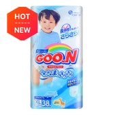GOO.N Baby Diaper Soft Pants for Boy Type XL Size 12-20kg 38Pcs