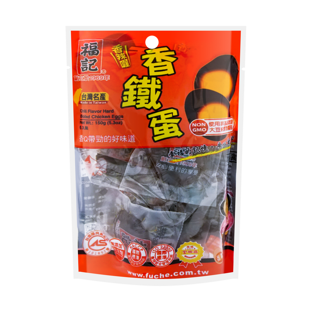 Product Detail - FUCHE Boiled Egg Spicy Flavor 6pcs 150g - image 0