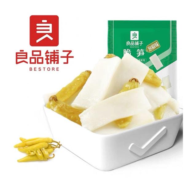 商品详情 - [中国直邮] BESTORE 良品铺子脆笋泡椒味188g - image  0