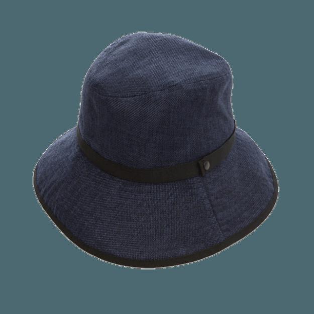 商品详情 - COGIT||PRECIOUS UV 宽帽檐可折叠防晒帽||靛蓝色 头围56-58cm - image  0