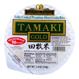 日本TAMAKI 金牌 微波即食田牧米 210g