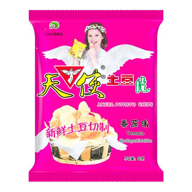 Product Detail - ANGEL Potato Chips-Tomato Flavor  50g - image 0