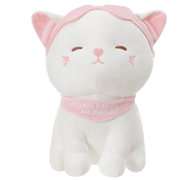 Miniso Kitten Plush with Eye Masks