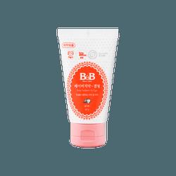 韩国 保宁 婴儿口腔清洁啫喱 牙膏 草莓味40g