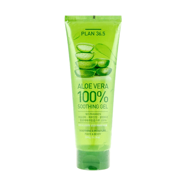 Product Detail - PLAN36.5 100% Aloe Vera Soothing Gel 260g - image 0