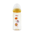 PIGEON Heat resistant Plastic Baby Bottle 240ml Honey Bee