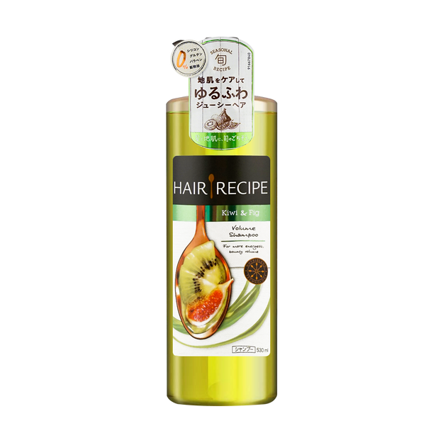 Product Detail - HAIR RECIPE Kiwi & Fig Volume Shampoo 530ml - image 0
