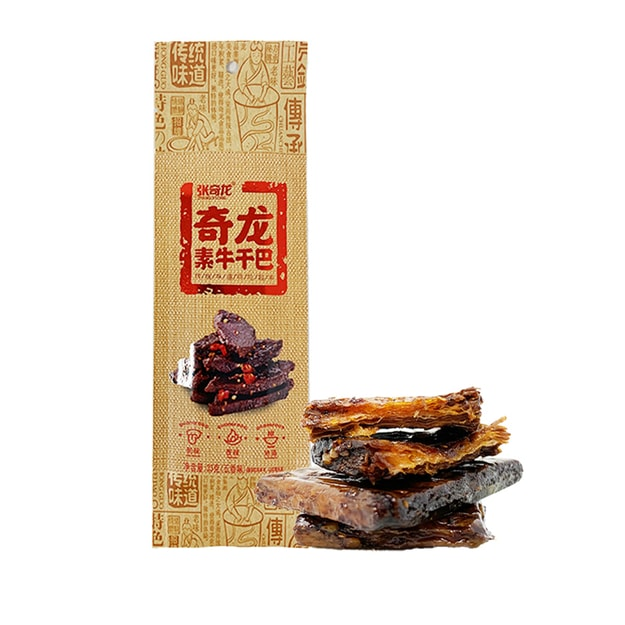 Product Detail - ZHANGQILONG Tofu Strips Spiced Flavor 23g - image 0