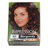 IMPRESSION Hanna Hair Color #N7 Burgundy 6 packs/Box