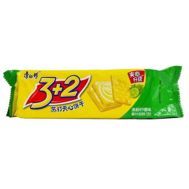 商品详情 - 【加拿大直发】康师傅 3+2柠檬饼干 125g - image  0