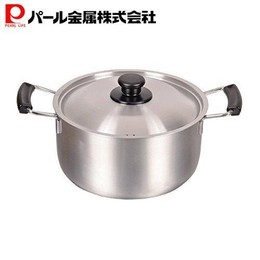 Japan Pearl Life Multi-functional Stainless Steel Pot Pan 22cm MADE IN JAPAN