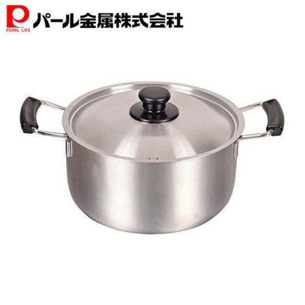 Product Detail - Japan Pearl Life Multi-functional Stainless Steel Pot Pan 22cm MADE IN JAPAN - image 0